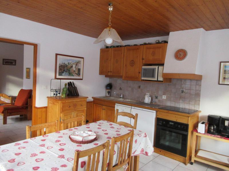 Location au ski Appartement 3 pièces 6 personnes - Chalet Les Agneaux - Valloire - Cuisine