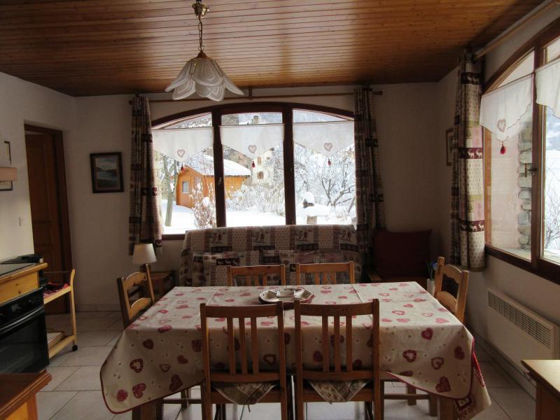 Location au ski Appartement 3 pièces 6 personnes - Chalet Les Agneaux - Valloire - Salle à manger