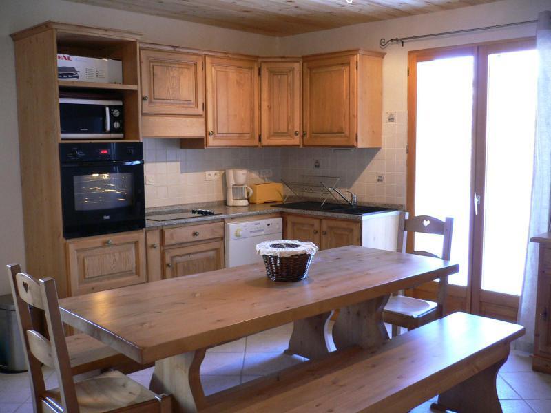 Аренда на лыжном курорте Апартаменты дуплекс 5 комнат 10 чел. (1) - Chalet les Aiguilles - Valloire - Столова&