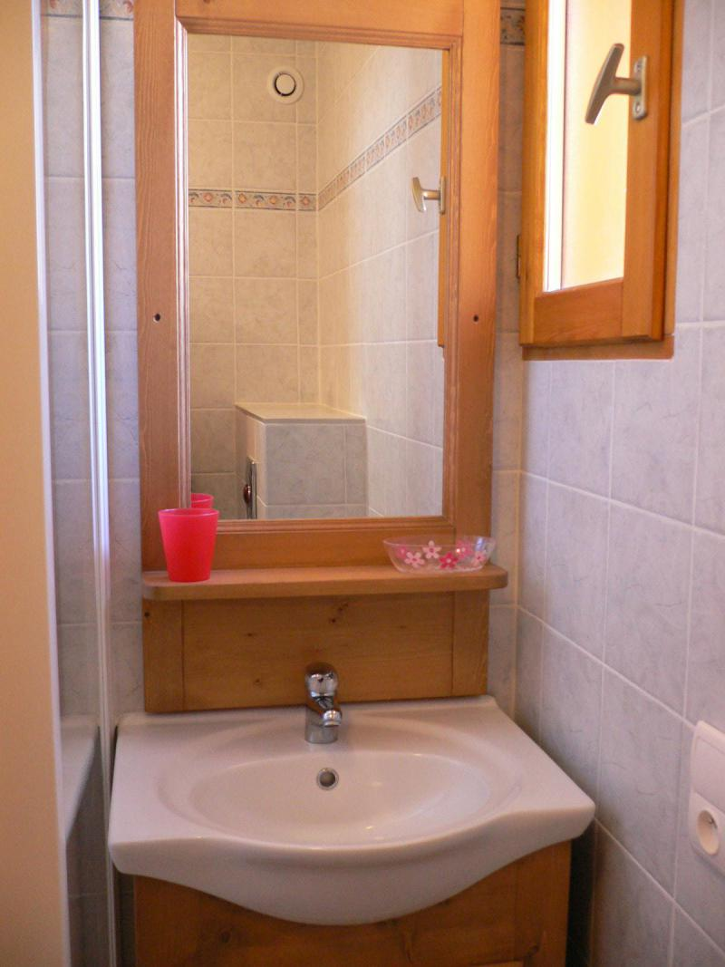 Location au ski Appartement duplex 5 pièces 10 personnes (1) - Chalet Les Aiguilles - Valloire - Lavabo