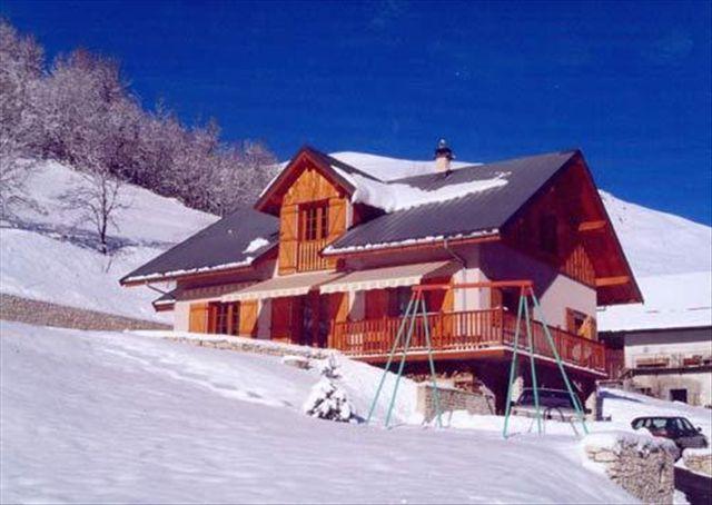 Urlaub in den Bergen Chalet les Clos - Marguerand - Valloire - Draußen im Winter