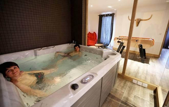 Rent in ski resort Chalet les Clots - Valloire - Relaxation