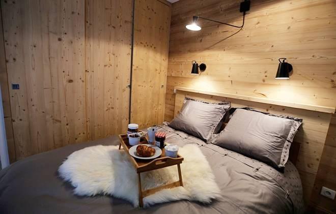 Rent in ski resort Chalet les Clots - Valloire - Bedroom