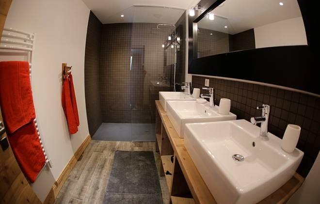 Location au ski Chalet les Clots - Valloire - Salle de bains