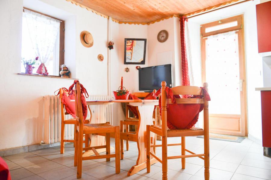 Аренда на лыжном курорте Квартира студия со спальней для 4 чел. (2) - Chalet les Ecrins - Valloire