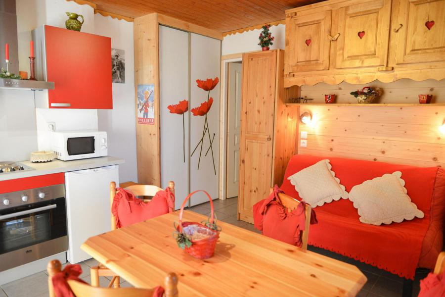 Аренда на лыжном курорте Квартира студия со спальней для 4 чел. (2) - Chalet les Ecrins - Valloire - апартаменты