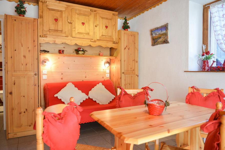 Аренда на лыжном курорте Квартира студия со спальней для 4 чел. (2) - Chalet les Ecrins - Valloire - Салон