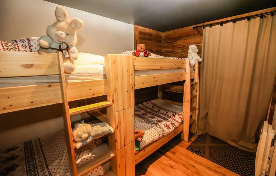 Rent in ski resort Chalet Les Lions Blancs - Valloire - Bunk beds