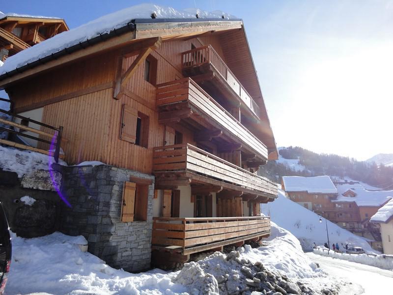 Location au ski Chalets de la Vallée d'Or Ancolie - Valloire - Extérieur hiver