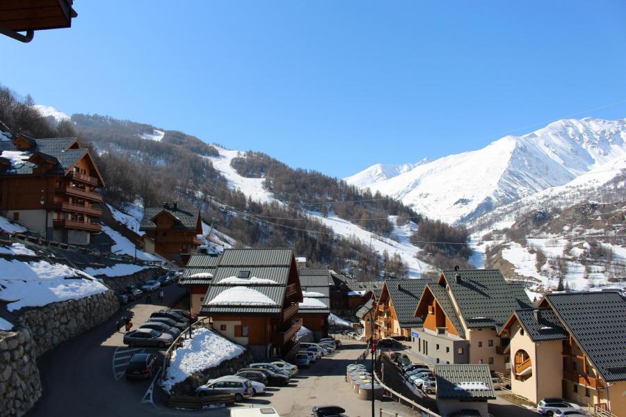 Wakacje w górach Apartament 2 pokojowy 4 osób (202) - Chalets de la Vallée d'Or Edelweiss - Valloire - Zima na zewnątrz