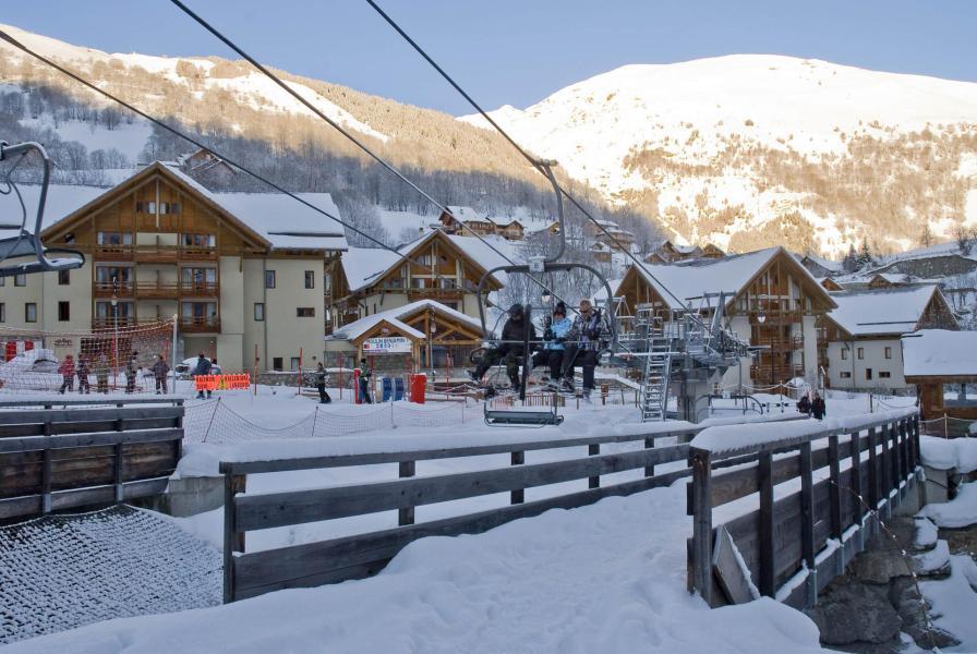 Urlaub in den Bergen Chalets du Galibier - Valloire - Draußen im Winter
