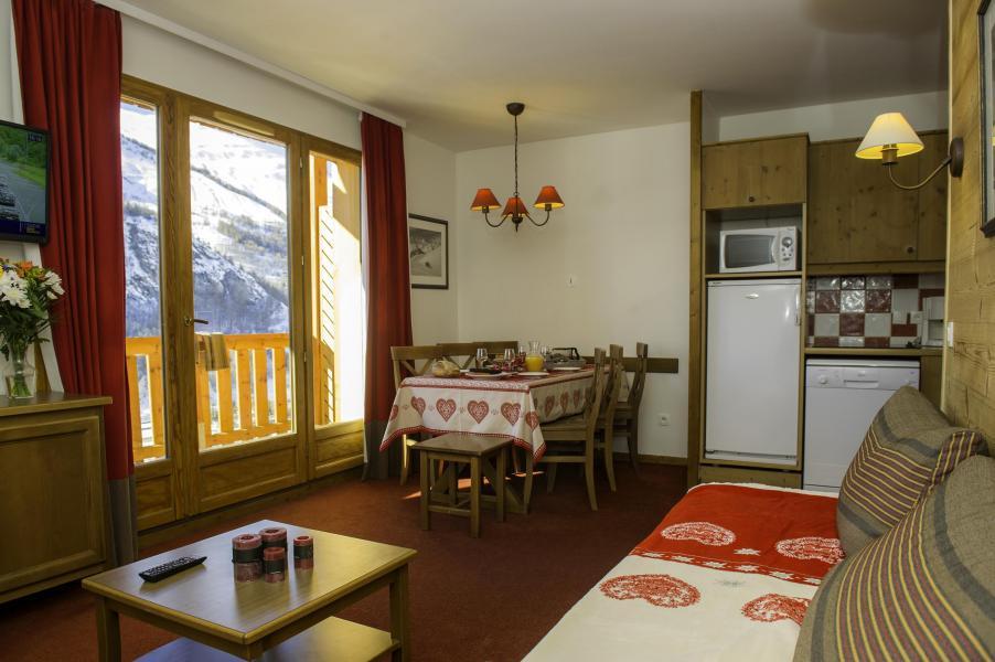 Location au ski Les Chalets De Valoria - Valloire - Cuisine ouverte