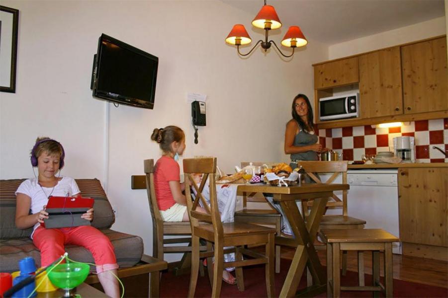 Аренда на лыжном курорте Les Chalets de Valoria - Valloire - Кухня