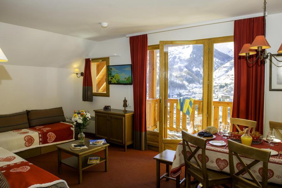 Аренда на лыжном курорте Les Chalets de Valoria - Valloire - Салон