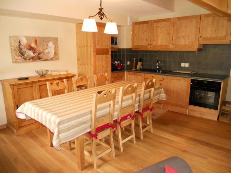 Аренда на лыжном курорте Апартаменты дуплекс 4 комнат кабин 8 чел. (B201) - Les Fermes de l'Archaz - Valloire