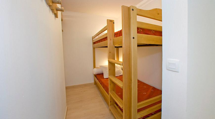 Аренда на лыжном курорте Апартаменты 3 комнат 6 чел. (B121) - Les Fermes de l'Archaz - Valloire