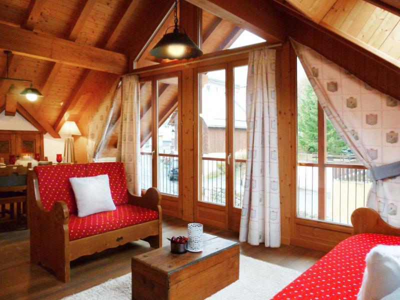 Аренда на лыжном курорте Апартаменты дуплекс 3 комнат 6 чел. (1) - Les Fermes du Planet - Valloire - апартаменты