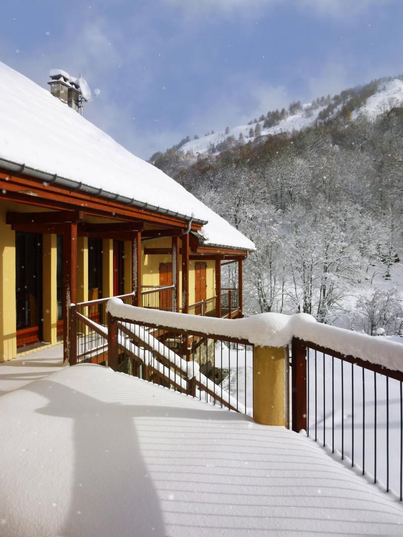 Location au ski Les Fermes Du Planet - Valloire - Extérieur hiver