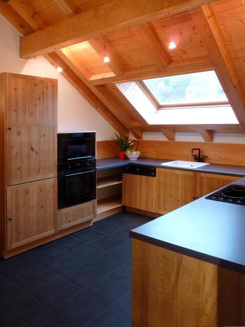Аренда на лыжном курорте Апартаменты дуплекс 3 комнат 6 чел. (1) - Les Fermes du Planet - Valloire