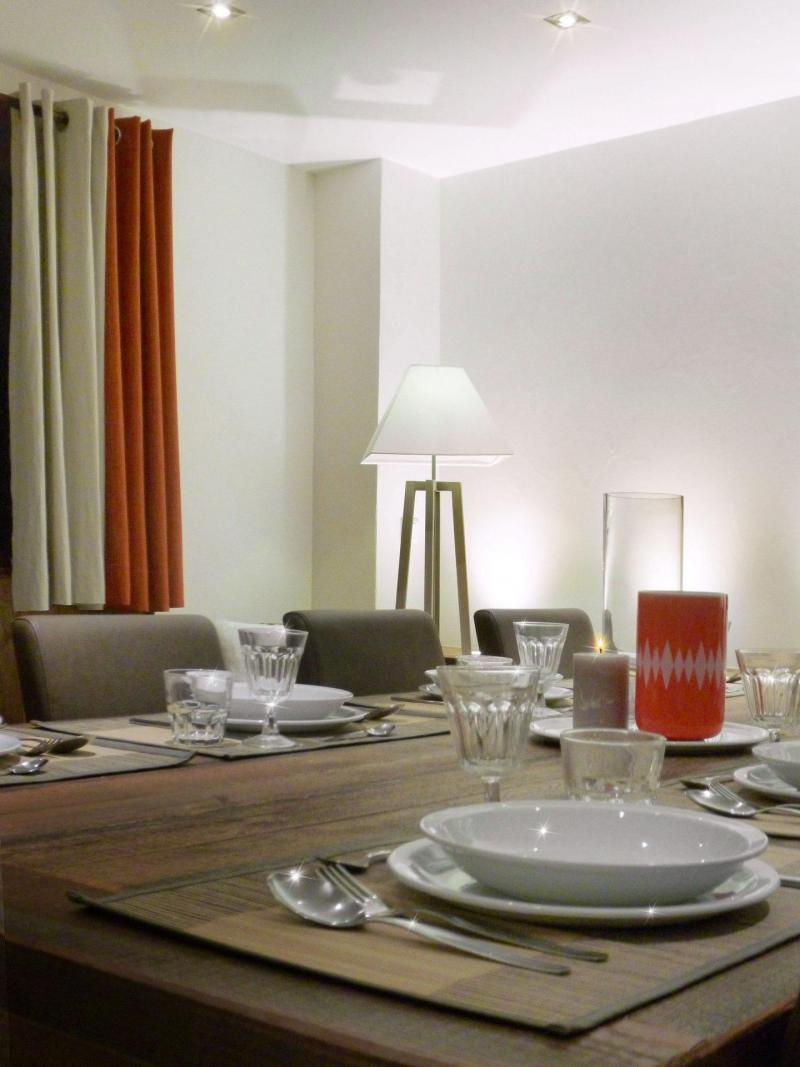 Аренда на лыжном курорте Апартаменты 6 комнат 12 чел. (5) - Les Fermes du Planet - Valloire - Столова&