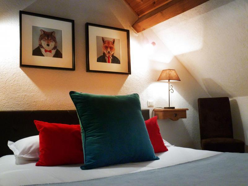 Аренда на лыжном курорте Апартаменты 6 комнат 12 чел. (5) - Les Fermes du Planet - Valloire - Двухспальная кровать
