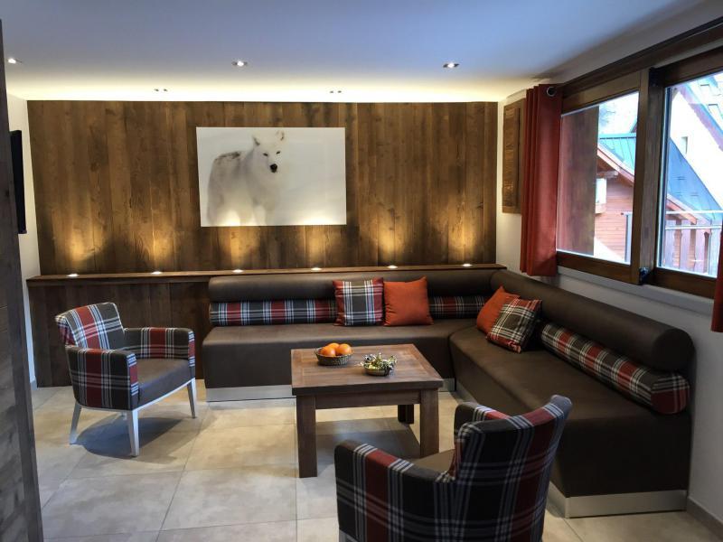 Аренда на лыжном курорте Апартаменты 6 комнат 12 чел. (5) - Les Fermes du Planet - Valloire - Салон