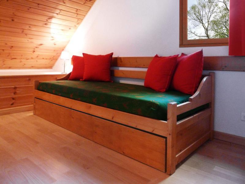Аренда на лыжном курорте Апартаменты 6 комнат 12 чел. (5) - Les Fermes du Planet - Valloire - Диван