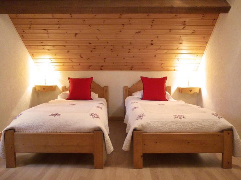 Аренда на лыжном курорте Апартаменты 6 комнат 12 чел. (5) - Les Fermes du Planet - Valloire - Односпальная кровать