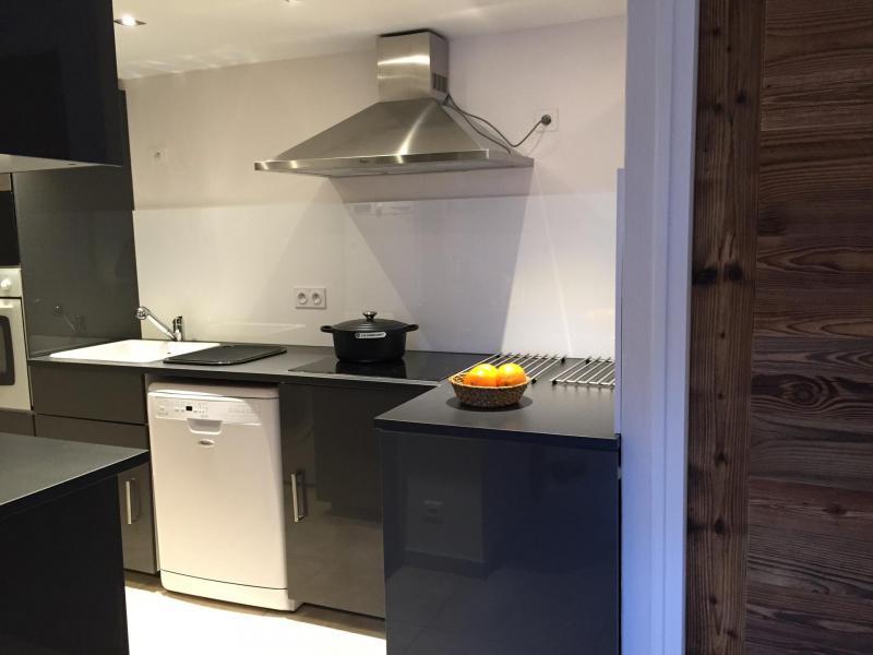 Аренда на лыжном курорте Апартаменты 6 комнат 12 чел. (6) - Les Fermes du Planet - Valloire - Кухня