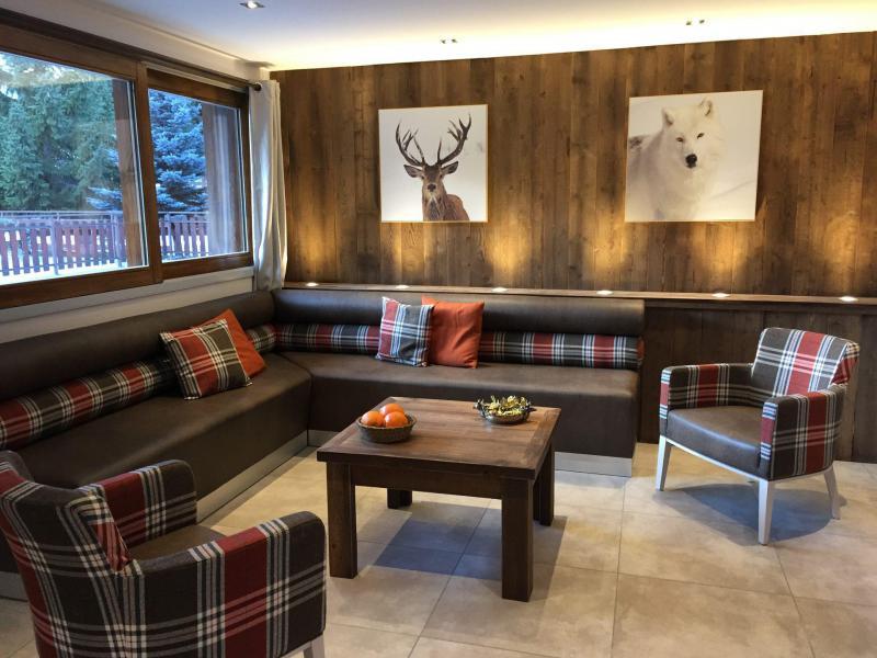 Аренда на лыжном курорте Апартаменты 6 комнат 12 чел. (6) - Les Fermes du Planet - Valloire - Салон