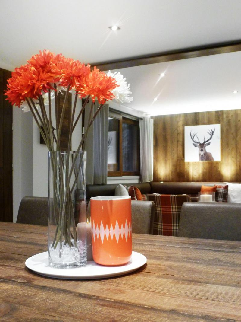 Аренда на лыжном курорте Апартаменты 6 комнат 12 чел. (6) - Les Fermes du Planet - Valloire - Стол