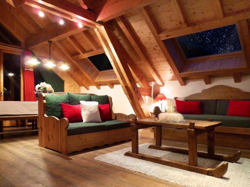 Аренда на лыжном курорте Апартаменты триплекс 6 комнат 12 чел. (3) - Les Fermes du Planet - Valloire - Салон