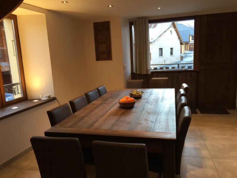 Location au ski Appartement 6 pièces 12 personnes (6) - Les Fermes Du Planet - Valloire - Coin repas