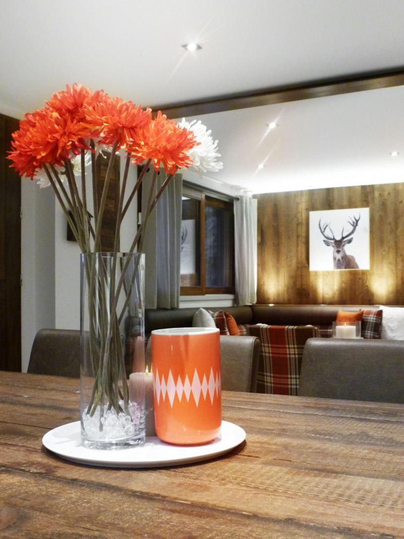 Location au ski Appartement 6 pièces 12 personnes (6) - Les Fermes Du Planet - Valloire - Table