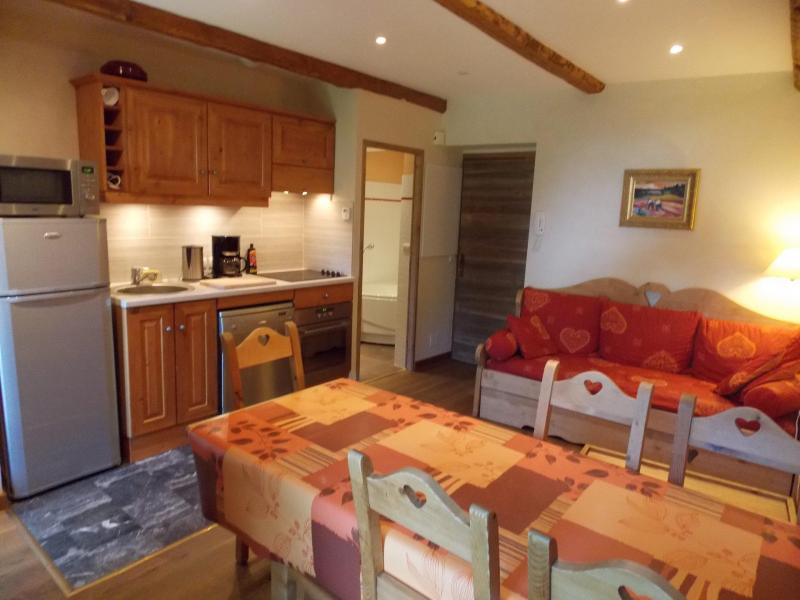 Аренда на лыжном курорте Апартаменты дуплекс 3 комнат 6 чел. (Pierre) - Maison l'Alpe de Virgile - Valloire - Столова&