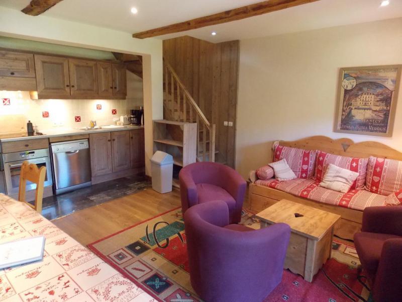 Аренда на лыжном курорте Апартаменты дуплекс 5 комнат 10 чел. (Mado) - Maison l'Alpe de Virgile - Valloire - Салон