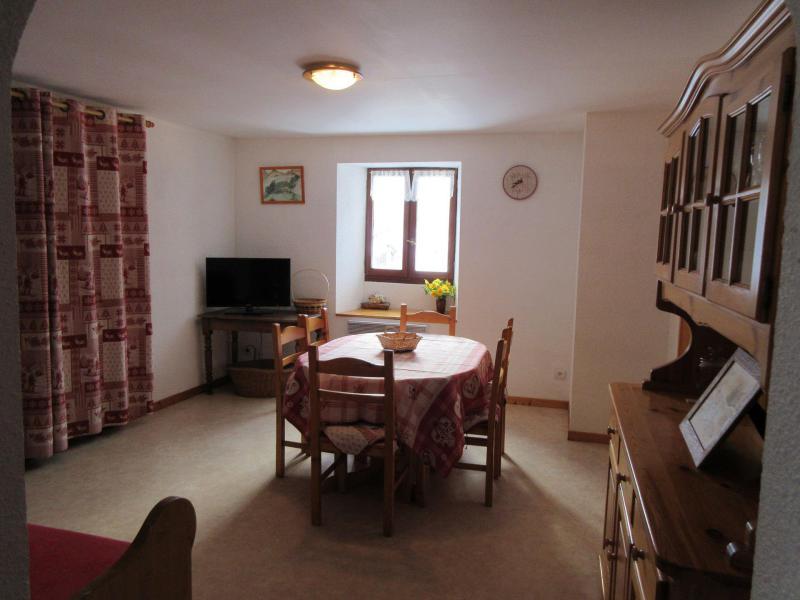 Location au ski Appartement 3 pièces 6 personnes - Maison Monnier - Valloire - Table