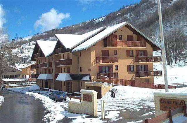 Location au ski Residence Altair - Valloire - Extérieur hiver