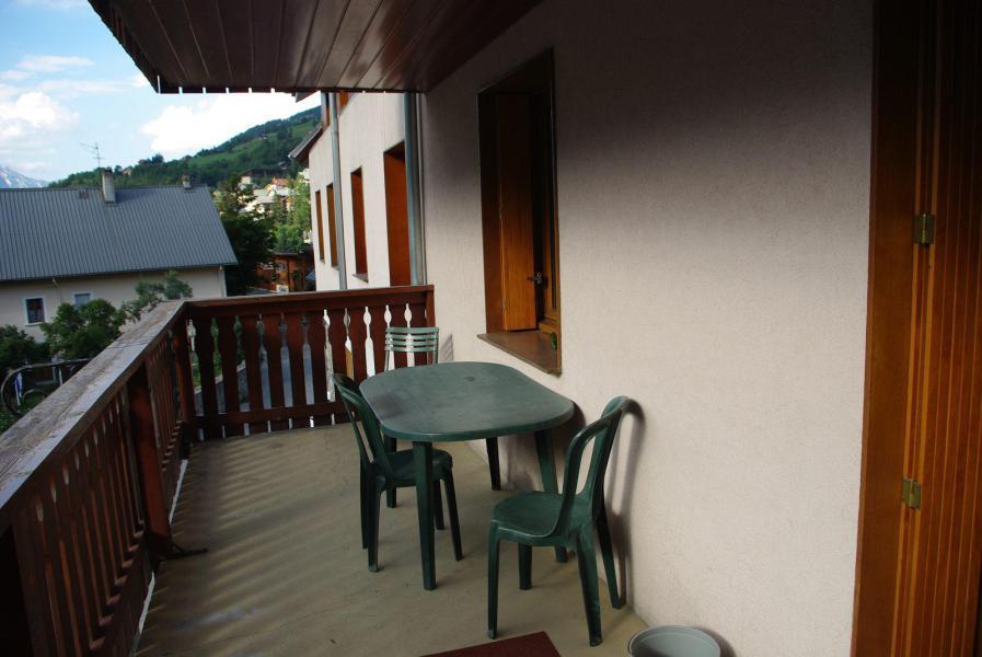 Аренда на лыжном курорте Квартира студия для 3 чел. (11) - Résidence Bon Accueil - Valloire - Балкон