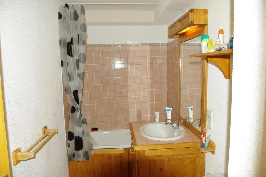 Аренда на лыжном курорте Квартира студия для 3 чел. (11) - Résidence Bon Accueil - Valloire - Ванная