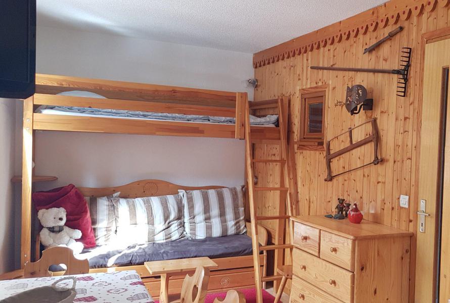 Location au ski Studio cabine 5 personnes (18) - Résidence Bon Accueil - Valloire - Lit mezzanine simple