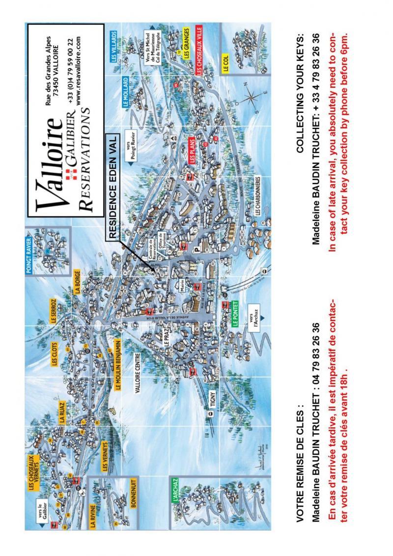 Location au ski Studio 4 personnes (5) - Residence Eden Val - Valloire