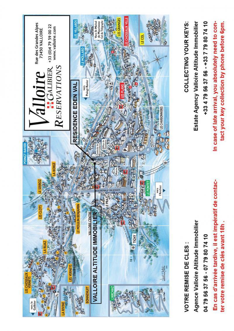 Location au ski Studio cabine 3 personnes (4) - Résidence Eden Val - Valloire