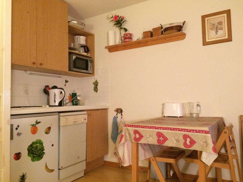 Location au ski Appartement 2 pièces 4 personnes (21) - Residence L'adret - Valloire - Coin repas