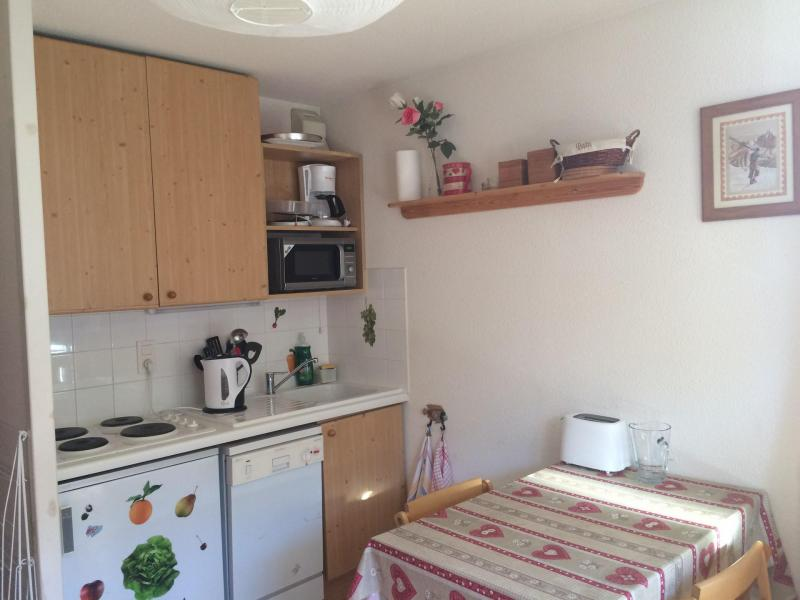 Location au ski Appartement 2 pièces 4 personnes (21) - Residence L'adret - Valloire - Kitchenette