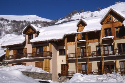 Wakacje w górach Résidence la Borge - Valloire - Zima na zewnątrz