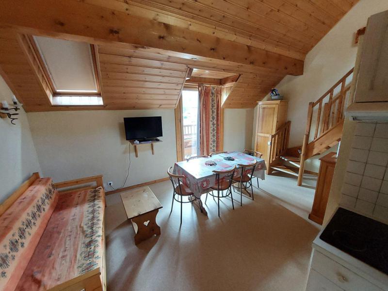Аренда на лыжном курорте Апартаменты дуплекс 2 комнат 6 чел. (5) - Résidence la Borge - Valloire