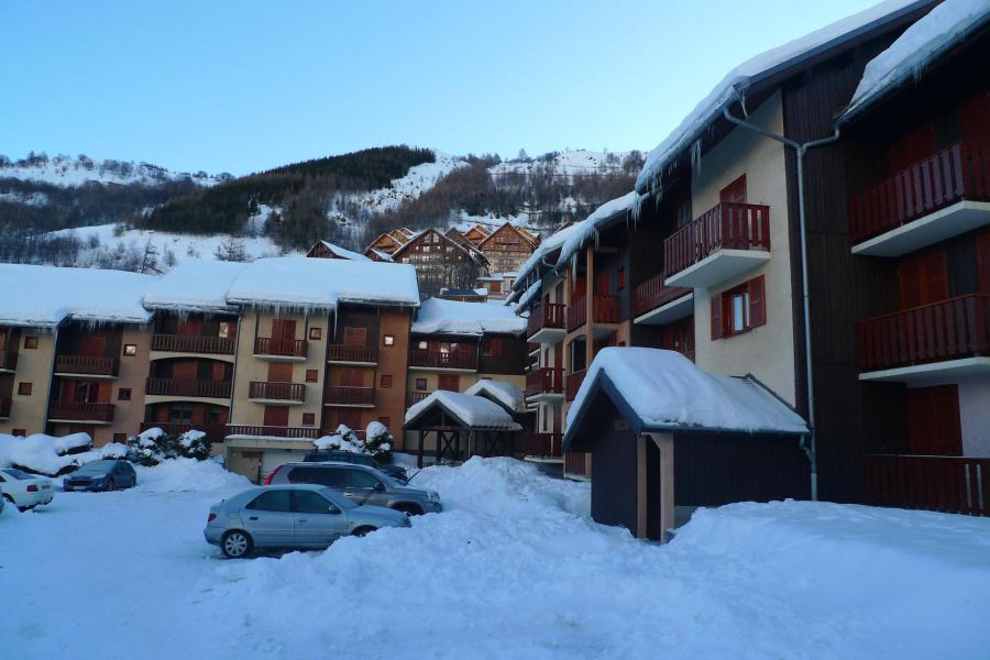 Аренда на лыжном курорте Résidence la Croix du Sud - Valloire - зимой под открытым небом