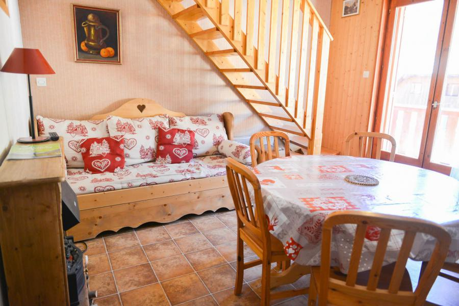 Location au ski Appartement 3 pièces mezzanine 6 personnes (114) - Résidence la Demeurance - Valloire - Séjour
