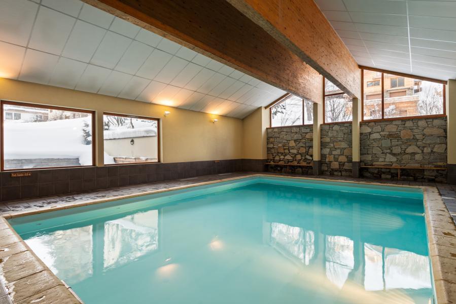 Location au ski Residence Lagrange Les Chalets Du Galibier - Valloire - Piscine